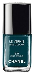 Chanel Beaute Chanel Nail Polish Vert Obscur 679 - Black Teal