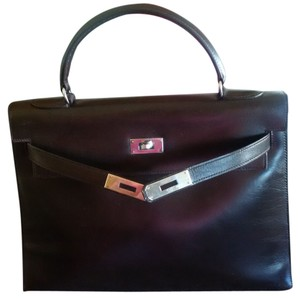 Hermès Hermes Kelly Brown Satchel