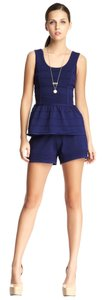 WOW Wow Couture Peplum Tank and Short Set L