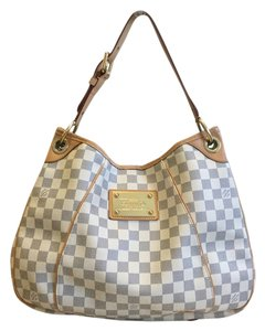ae90395e3a8 Louis Vuitton Shopping Galleria Pm In Comes with Lv Shopping Date Code  Sd0079 Made In The Usa Damier Azur Canvas Shoulder Bag