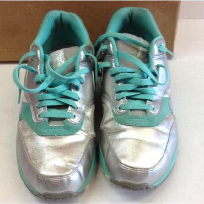 Nike Mint Silver Air Max 1 Sneakers Size US 11.5 Regular (M, B) Nike Mint Silver Air Max 1 Sneakers Size US 11.5 Regular (M, B) Image 2
