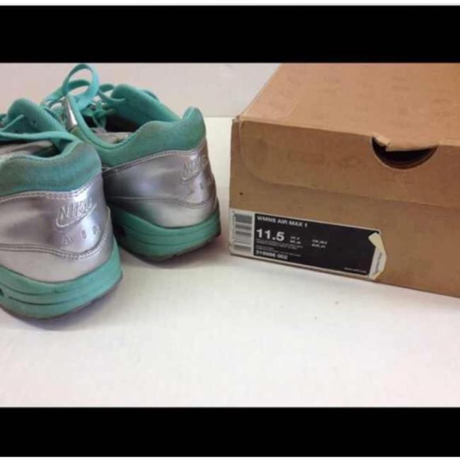 Nike Mint Silver Air Max 1 Sneakers Size US 11.5 Regular (M, B) Nike Mint Silver Air Max 1 Sneakers Size US 11.5 Regular (M, B) Image 4