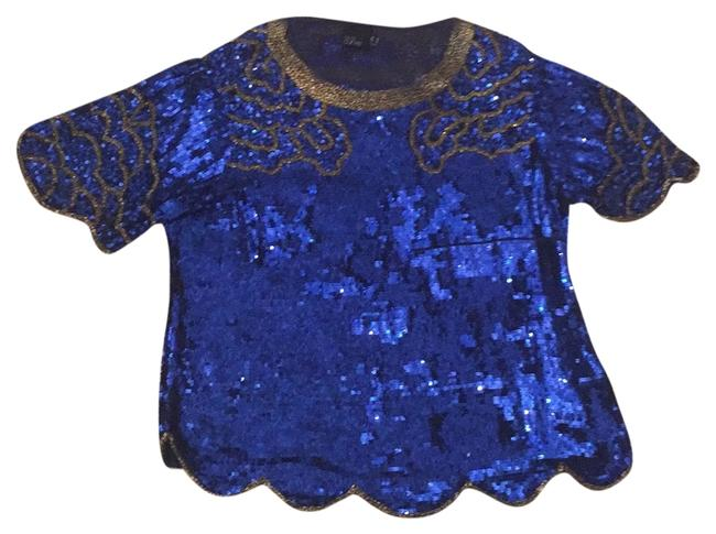Preload https://item2.tradesy.com/images/asos-blue-night-out-top-size-16-xl-plus-0x-10375396-0-1.jpg?width=400&height=650