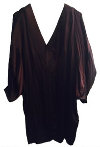 BCBG Chocolate Brown Sarin Dress Dress