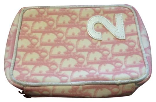 Preload https://item2.tradesy.com/images/dior-christian-pouch-pink-canvas-clutch-10375771-0-1.jpg?width=440&height=440