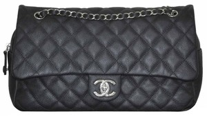 Chanel Easy Flap Leather Shoulder Bag