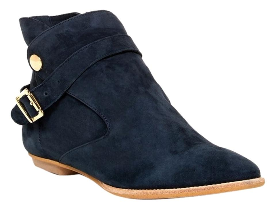 House of Boots/Booties Harlow 1960 Navy Hollie Boots/Booties of 9d6e14