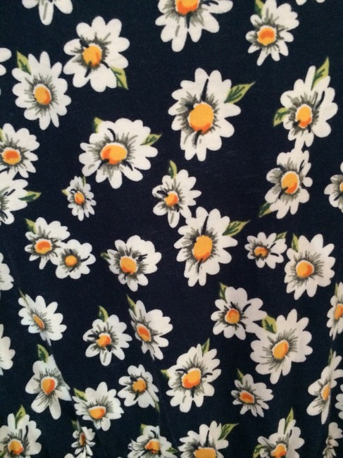 Nordstrom short dress Navy with White Daisys on Tradesy
