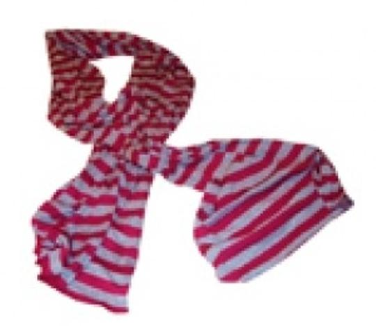Preload https://item3.tradesy.com/images/michael-stars-hot-pink-and-heather-grey-striped-3402-scarfwrap-10377-0-0.jpg?width=440&height=440
