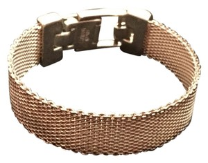 Ecclissi Ecclissi .925 Sterling Silver Mesh Bracelet Watch Band