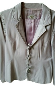 Jules & James Soft Lavender Leather Jacket
