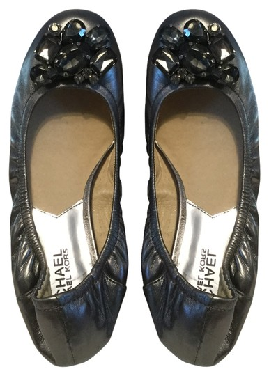 Preload https://item3.tradesy.com/images/michael-michael-kors-make-an-offer-gunmetal-leather-lining-leather-glimmering-crystals-ballet-flats--10377577-0-1.jpg?width=440&height=440