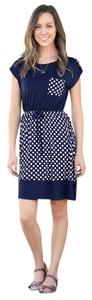 White Plum short dress Polka Dot on Tradesy