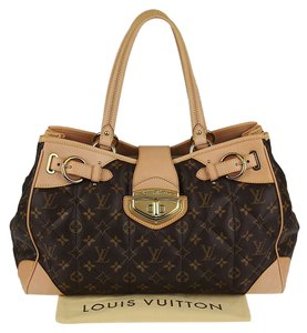 Louis Vuitton Canvas Etoile Quilted Satchel in Monogram
