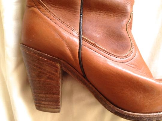 Frye Vintage Evening Brown Boots