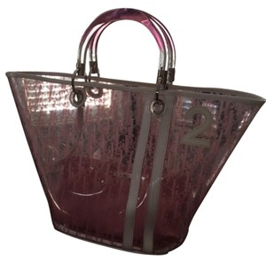 Dior Tote in Pink & White