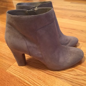 Ann Taylor LOFT Bootie Medium Heather Grey Boots
