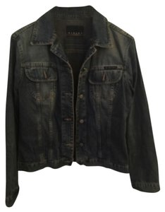 Sisley Medium blue Womens Jean Jacket