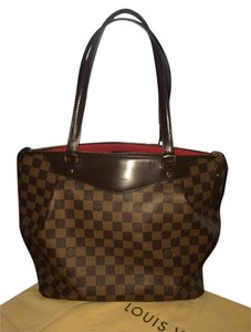 Louis Vuitton Monogram Signature Damier Check Shoulder Bag