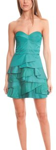 Temperley London Corseted Tiered Skirt Dress
