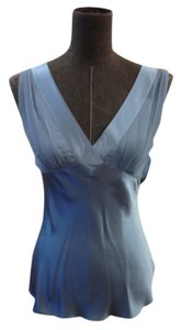 Catherine Malandrino Silk Size Small Top Blue
