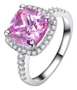 **THIS WEEKEND ONLY WAS $149**Sona Pink Halo NSCD Diamond VVS1