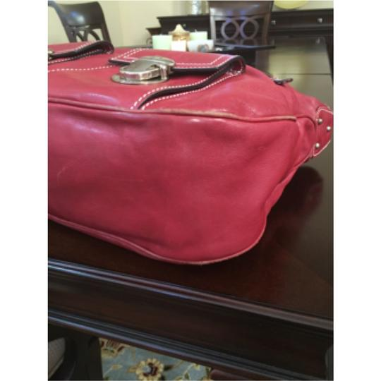 Marc Jacobs Tote in Burgandy