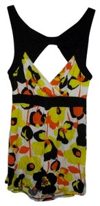 Rue 21 Floral Top Yellow