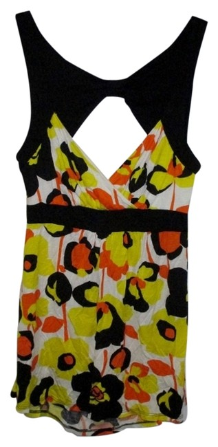 Preload https://item2.tradesy.com/images/rue-21-floral-tank-top-yellow-1037961-0-6.jpg?width=400&height=650