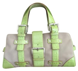 Michael Kors Satchel in Lime