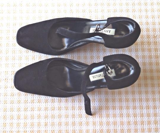 Ann Taylor Black Suede Formal