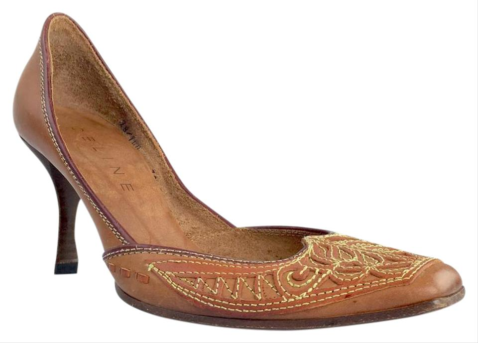 WOMEN Céline Camel Pumps Mules/Slides widely Won highly esteemed and widely Mules/Slides trusted at home and abroad e9de31