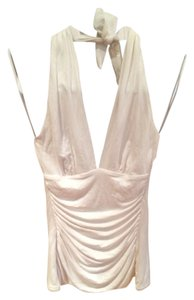 Trina Turk white Halter Top