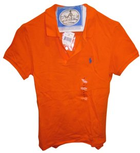 Ralph Lauren Polo T Shirt Orange