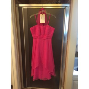 Mori Lee Fuschia Dress