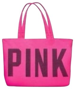 Victoria's Secret Hot Beach Tote Tote New New With Tags Pink Beach Bag