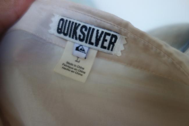 Quiksilver short dress Tan Beige Army on Tradesy