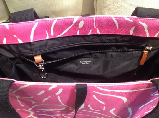 Kate Spade Pink with flowers. Diaper Bag