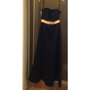Alfred Angelo Navy Blue Dress