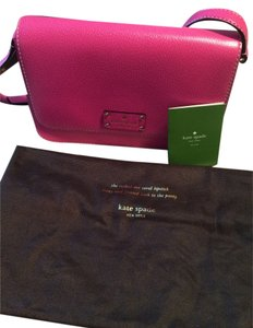 Kate Spade Flap Leather Shoulder Bag