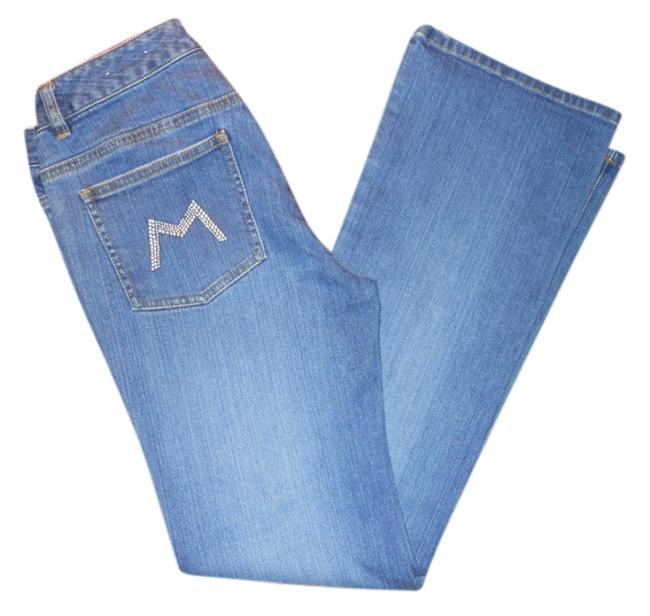 Preload https://img-static.tradesy.com/item/10384096/michael-kors-blue-medium-wash-studded-boot-cut-jeans-size-29-6-m-0-1-650-650.jpg