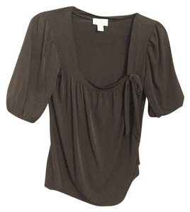 Ann Taylor LOFT Top forest brown