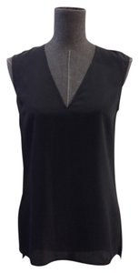 Hugo Boss Silk Sleeveless Top Black