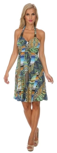 Preload https://item3.tradesy.com/images/white-mark-greenmulticolor-style-number-6025-above-knee-short-casual-dress-size-petite-4-s-10384417-0-1.jpg?width=400&height=650