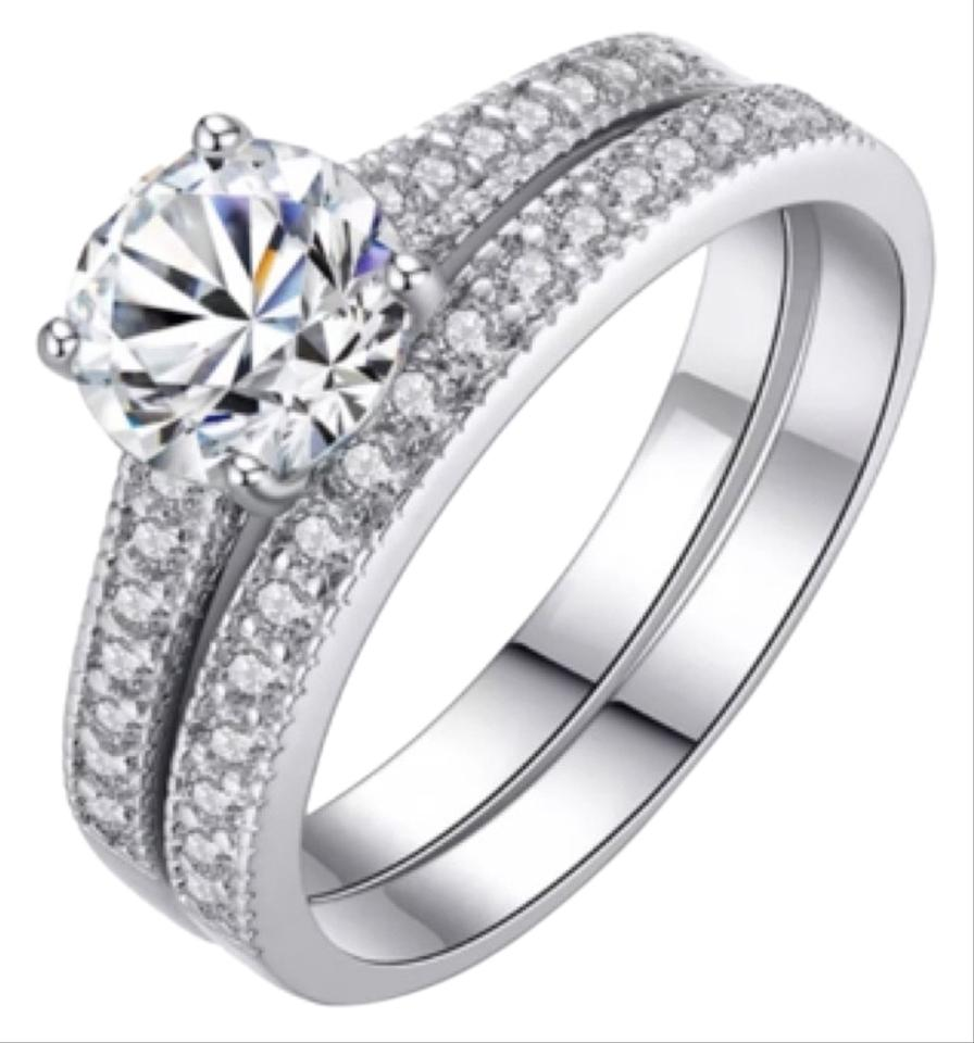 Other Summer Clearance 2pc Wedding Ring Set 125cw Image 0: 2 Pc Wedding Ring Sets At Reisefeber.org