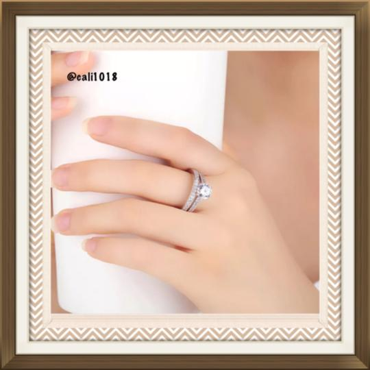 Other SUMMER CLEARANCE 2pc Wedding Ring Set; 1.25CW