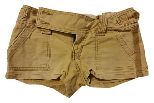 Preload https://item5.tradesy.com/images/abercrombie-and-fitch-beige-dark-khaki-with-stripes-minishort-shorts-size-0-xs-25-10384744-0-1.jpg?width=400&height=650