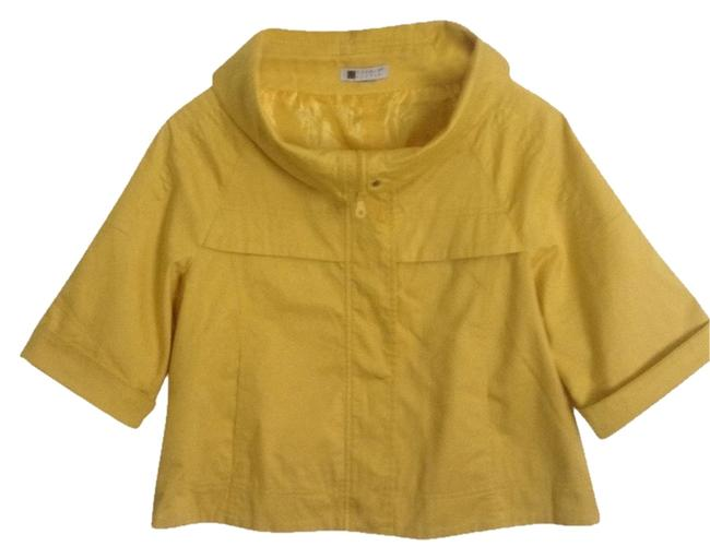 Preload https://item1.tradesy.com/images/carole-little-yellow-spring-jacket-size-8-m-10385125-0-4.jpg?width=400&height=650