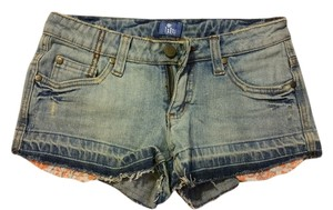 Lilu Mini/Short Shorts Denim