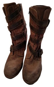 Cordani Leather Italian Suede Brown Brown/Taupe Boots